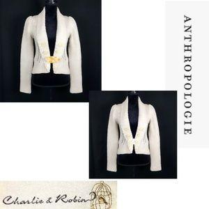 Anthropologie Charlie & Robin Wool Sweater S/M